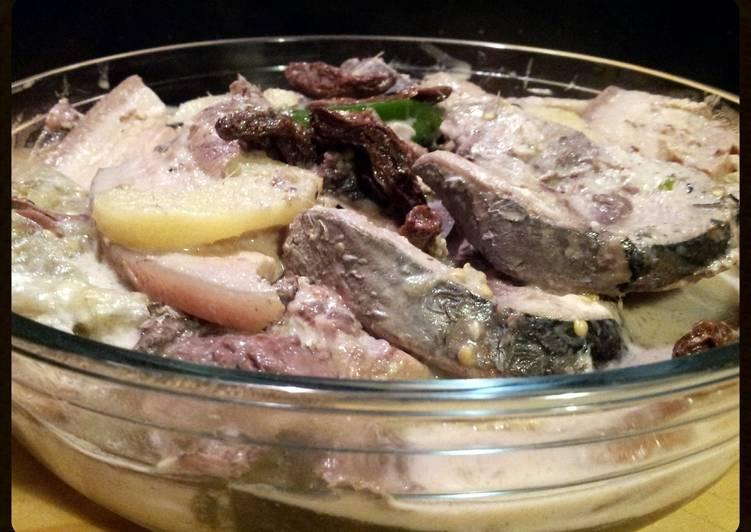 AMIEs GINATANG TULINGAN (tuna fish with coco milk)