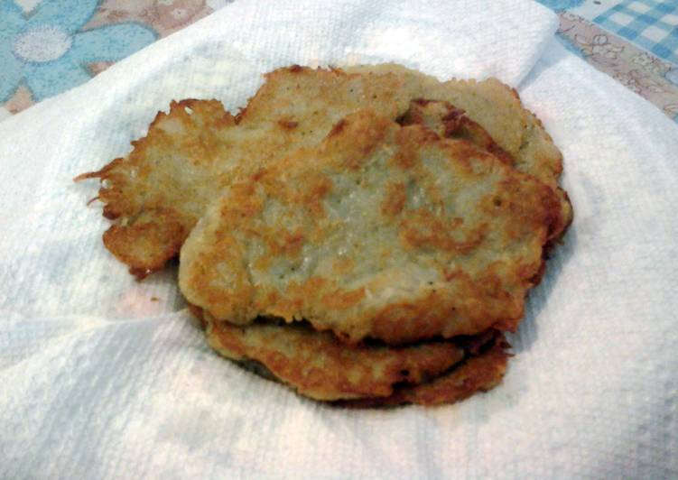 Recipe of Perfect Potato pancakes