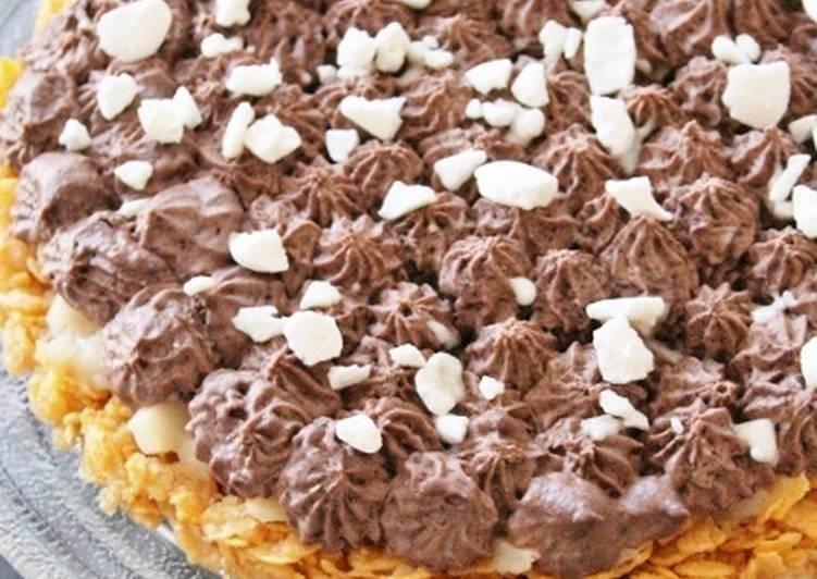 Tarte céréales-poires-chocolat bio sans gluten, sans lait, sans oeufs