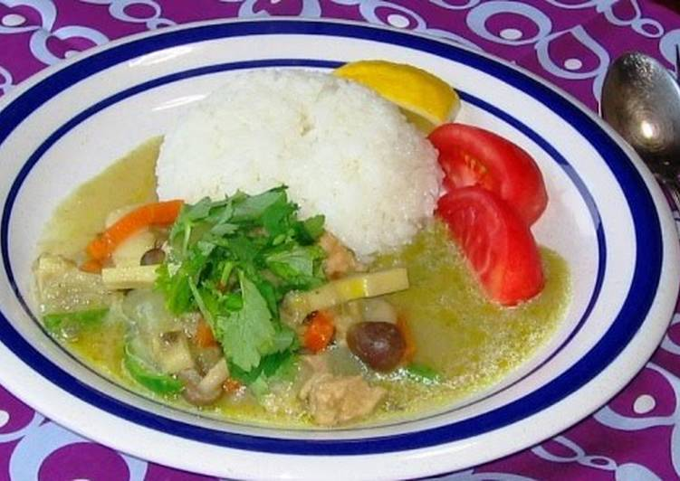 My Family's Seriously Yummy Thai Curry