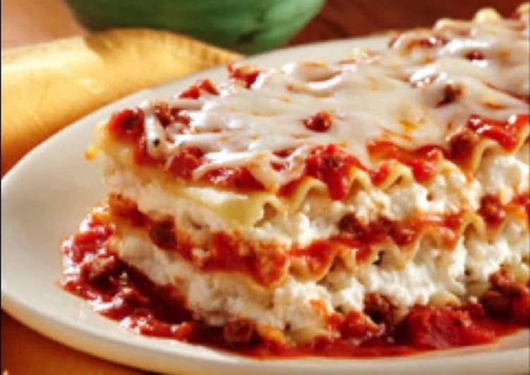 Ragu No Boiling Lasagna Recipe By Ragu Cookpad