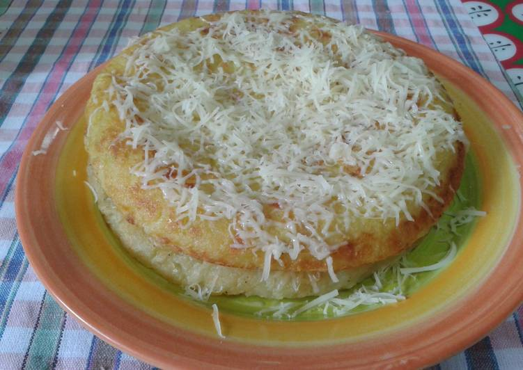 Rosti-potato pie