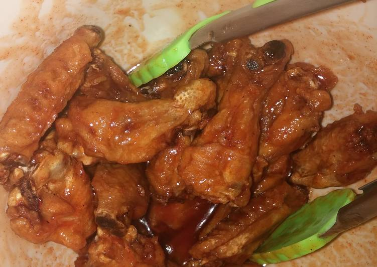 Honey chipolte wings