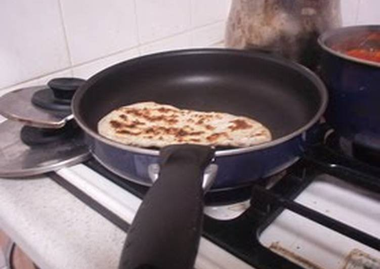 Recipe of Any-night-of-the-week Naturally Leavened Naan made in a Frying Pan