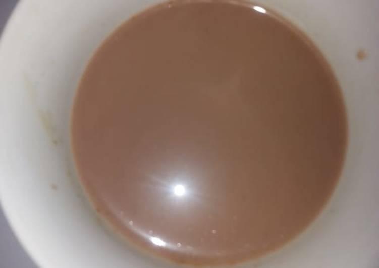 Chocolate tea #new author contest#