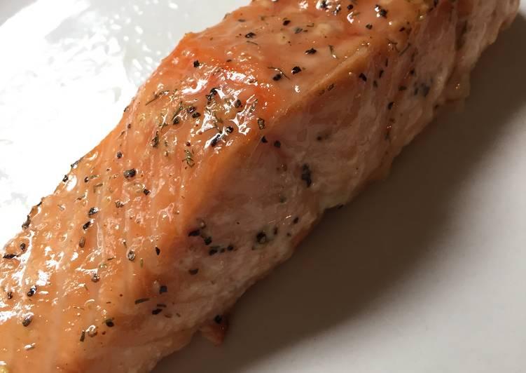 Recipe: Perfect Sweet Glazed Salmon