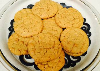 Easiest Way to Make Tasty Peanut Butter Cookies With A Twist
