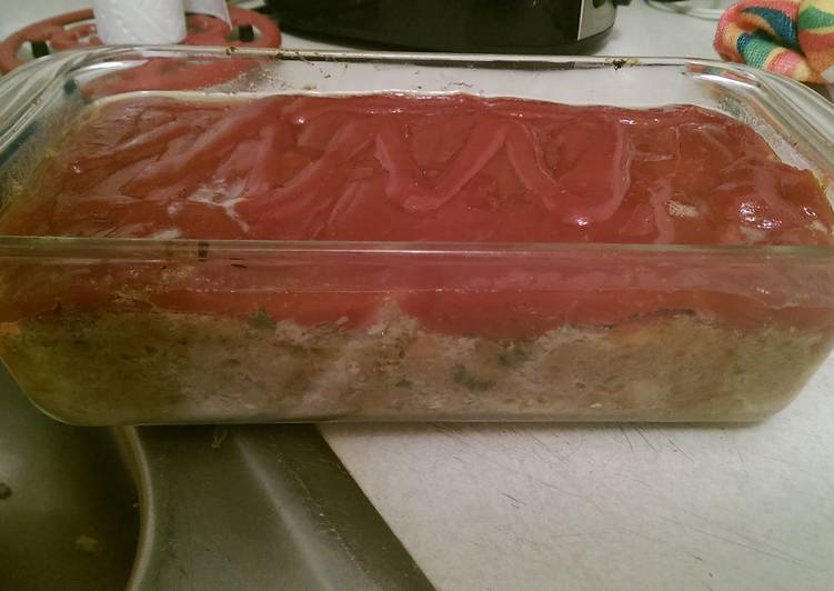 Easiest Way to Cook Appetizing Turkey meatloaf