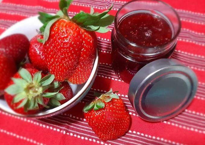 Confiture de fraises allégée 🍓