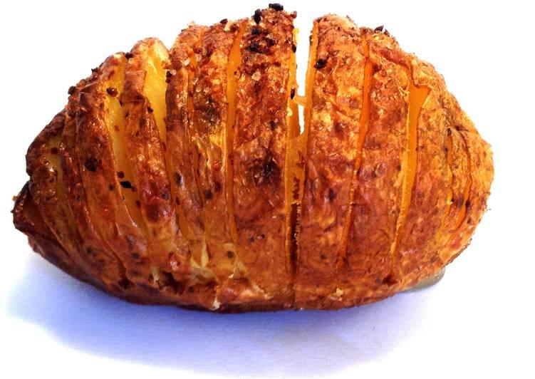 Hasselback Potatoes (easy diet version)
