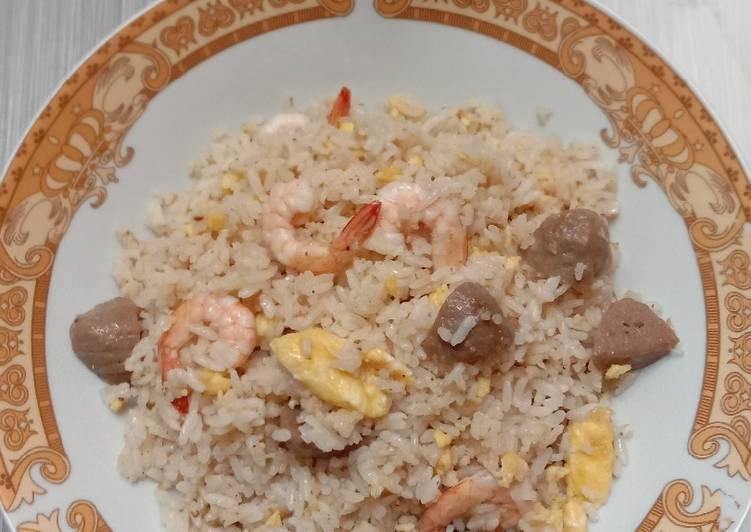 Nasi Goreng Bumbu Minimalis
