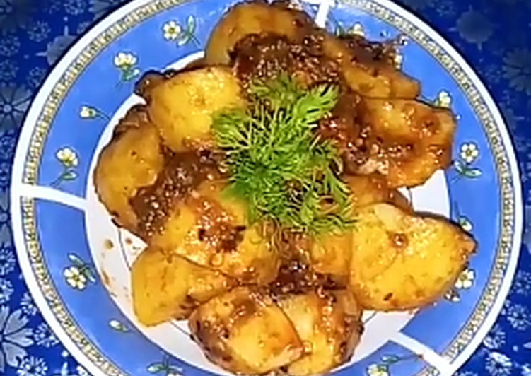 Spicy Sour Potatoes