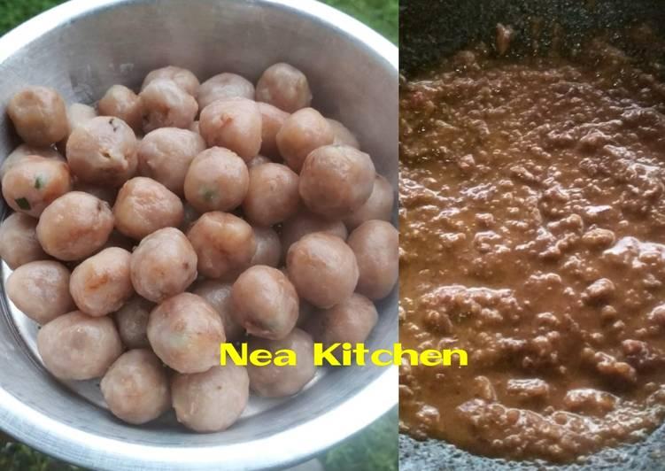 Cilok Corned Beef Bumbu Kacang