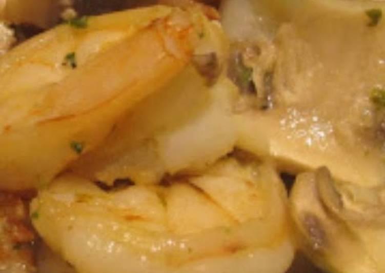 Easiest Way to Make Super Quick Homemade Shrimp a la Sabri