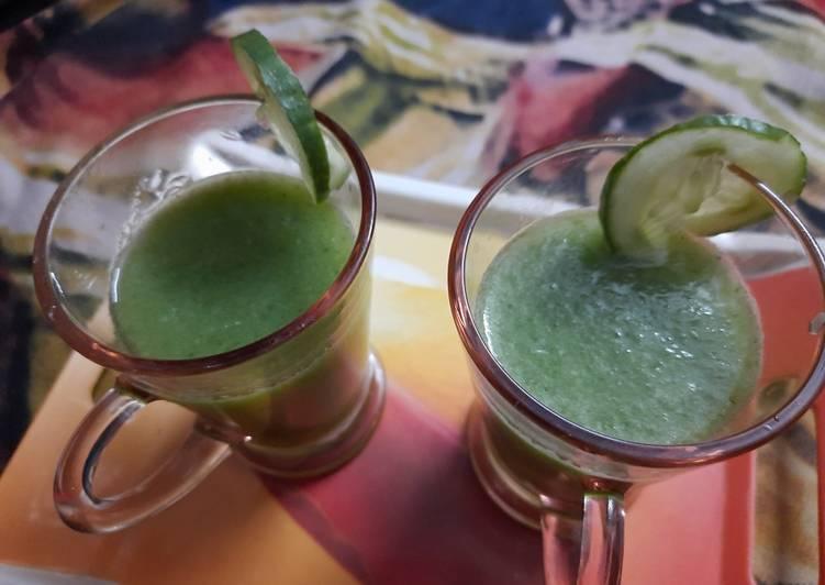 Detox cucumber juice