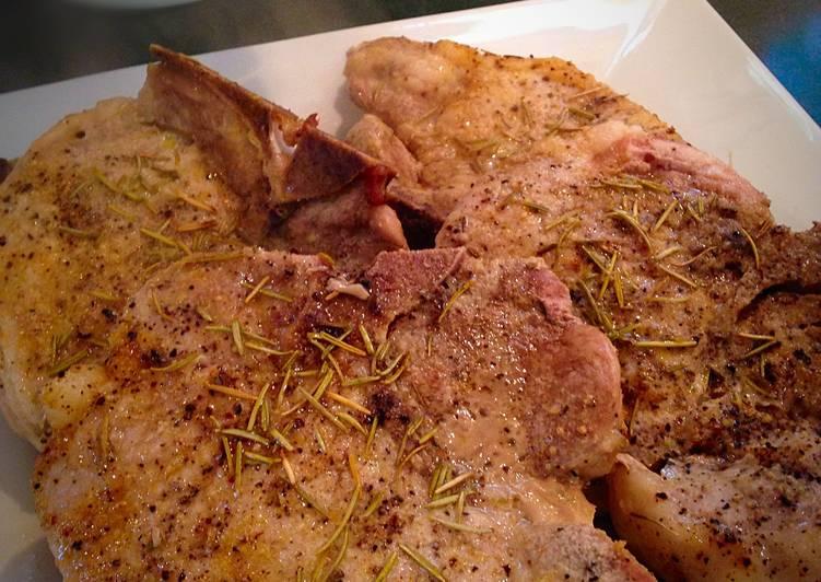 Simple Baked Center Cut Pork Chops