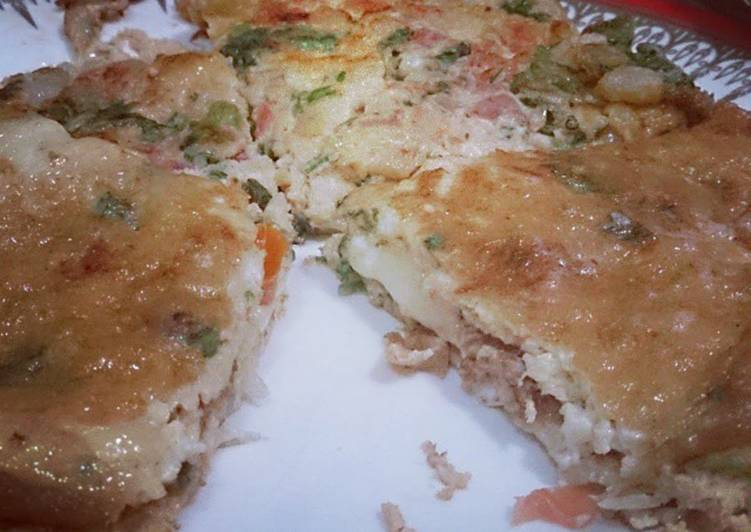 SKhan's Cheesey Omelette