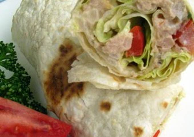 Sweet Onion & Tuna Wrap Sandwich