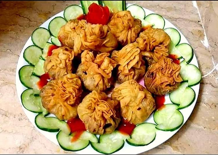 Steps to Make Speedy Chicken keema Chess potli