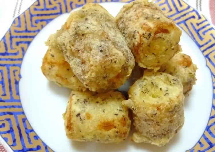 Cheesy Chikuwa Fries with Yukari