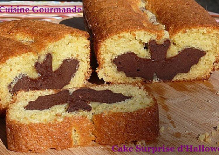 Comment Préparer Des Cake Surprise d'Halloween