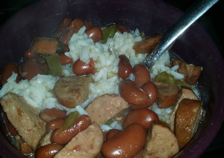 Easiest Way to Make Tasty Crockpot Red beans and rice