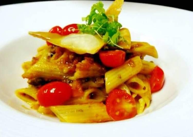 Recipe of Any-night-of-the-week Arrabiatta pasta(Vegan Pasta)