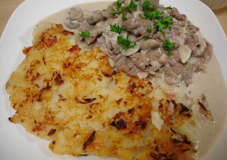 Simple Way to Prepare Perfect Rösti (Swiss Potato Pancake)