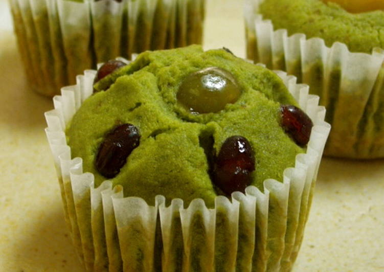 Recipe of Perfect Matcha Green Tea Cupcakes