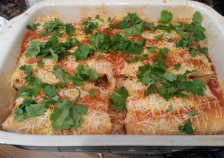 Foods That Can Make Your Mood Better Beef, Bean & Cheese Enchiladas