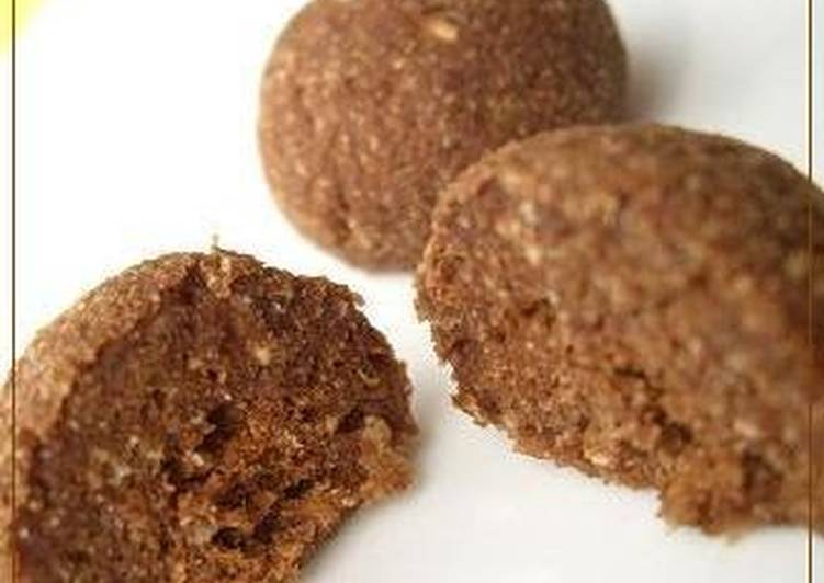 Okara and Tofu Chocolate Cake Balls - Laurie G Edwards
