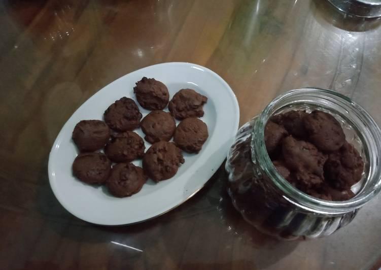 COOKIES CHOCOCHIPS RECIPE | RESEP KUE COKLAT CHOCOCHIPS - DAPUR