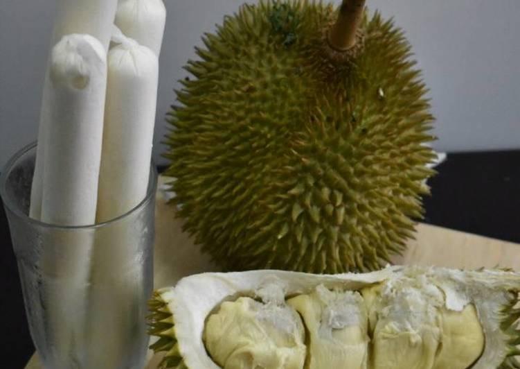 Aiskrim Durian Bandung Kekinian - resepipouler.com