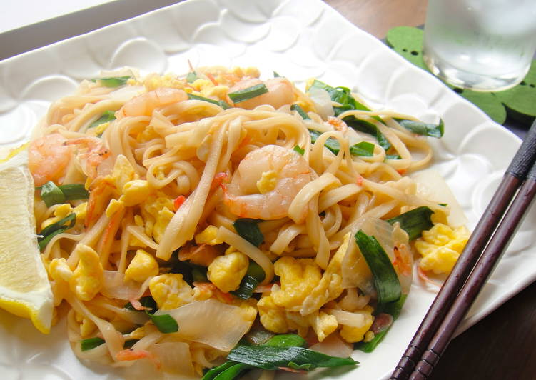 Easiest Way to Make Quick Easy Pad Thai with Dried Udon Noodles