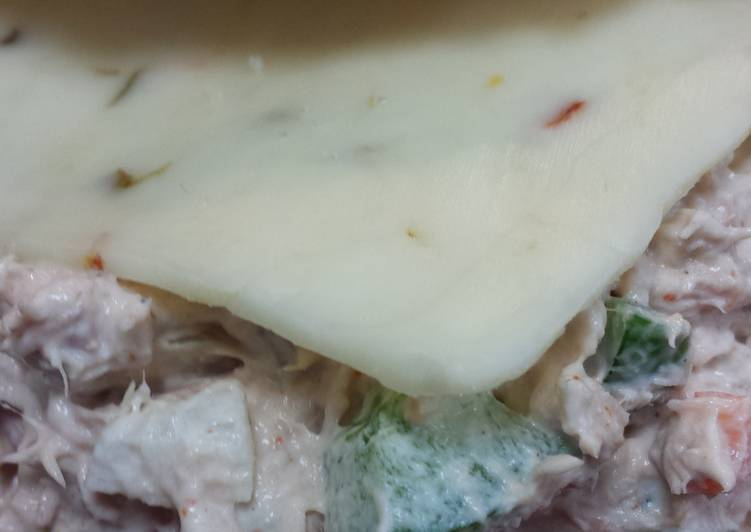 I know it's just canned tuna. But make it your own!!