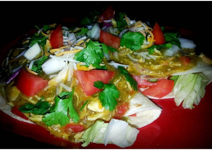 How To Cook Mike's Smothered Soft Chicken Tacos Step by Step