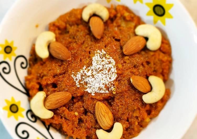 Recipe of Ultimate Carrot dessert or gajarhalwa