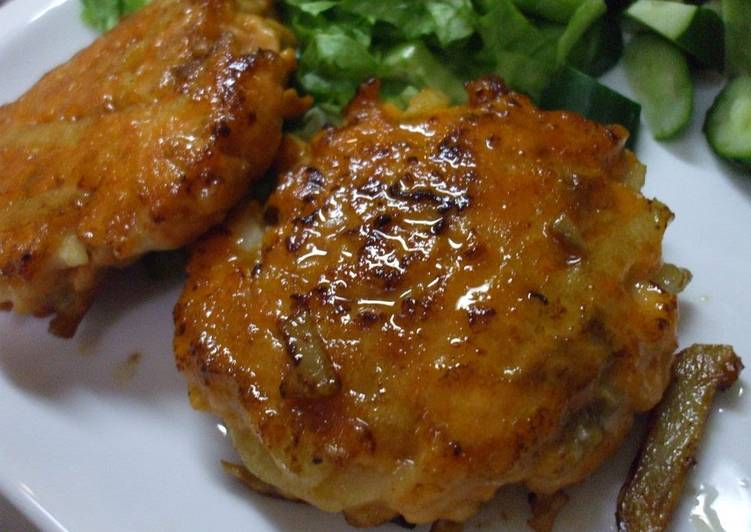 Recipe of Any-night-of-the-week Fresh Salmon Burgers with Butter Soy Sauce
