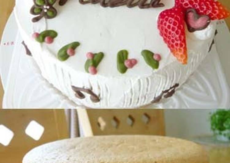 Simple Way to Prepare Any-night-of-the-week Sponge Cake
