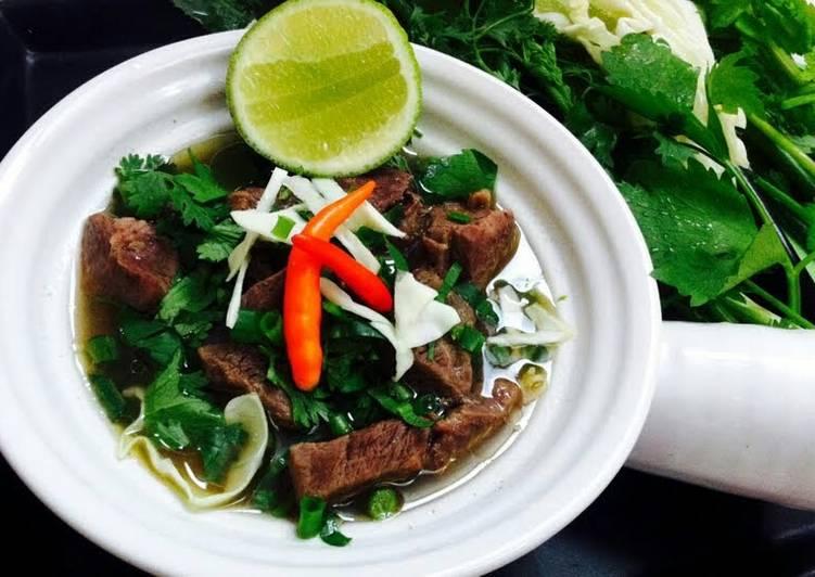 Kanya's Beef Noodles Soup