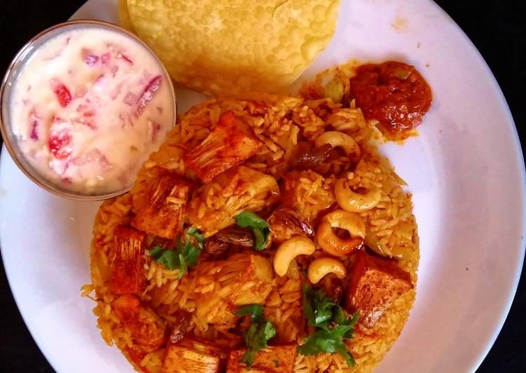 Top 10 Dinner Ideas Cooking Jackfruit Biryani (Chakka (ചക്ക)/ Kadgi/ kathal Biryani)