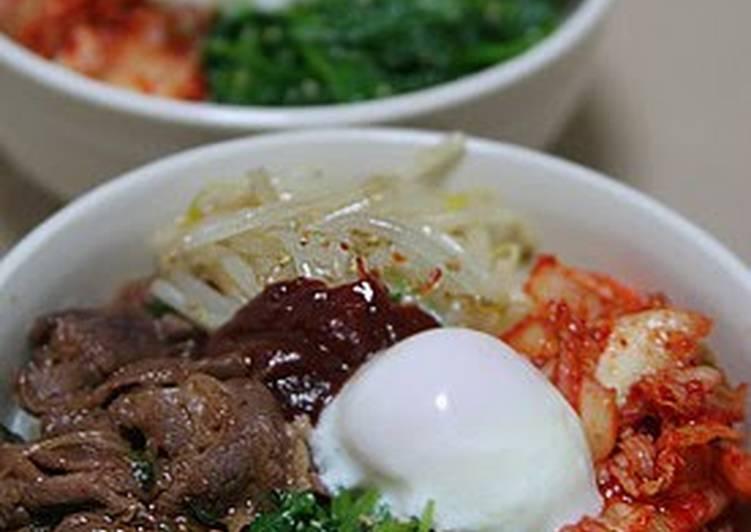 Easy Bibimbap with Yakiniku Sauce – Eating Well Cookbooks