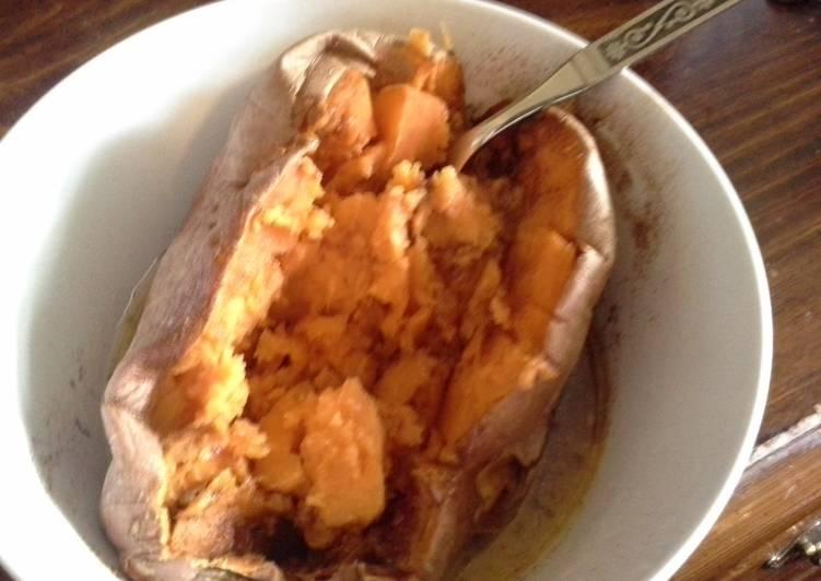 Recipe: Perfect Microwavable Sweet Potato