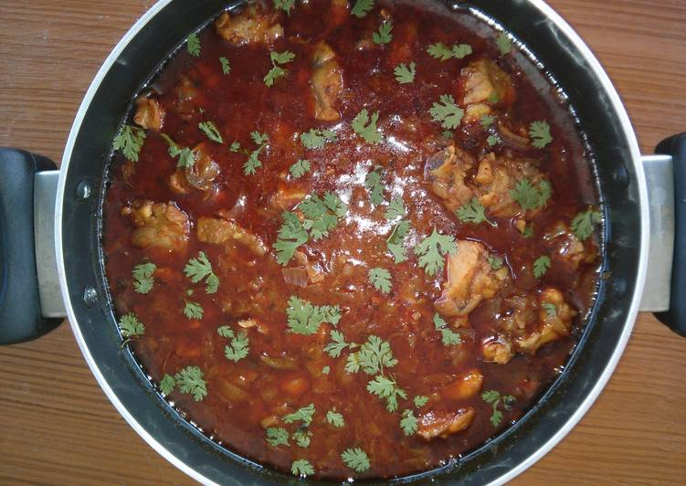 Spicy Indian chicken curry Deciding on Healthy Fast Food