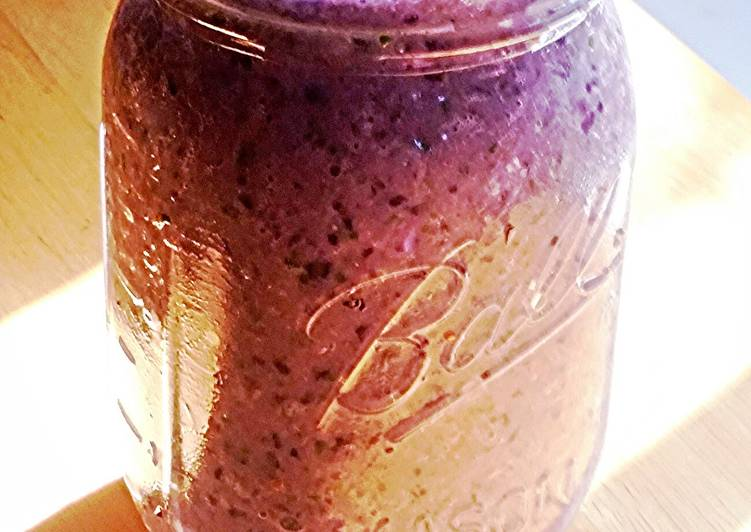 Super Blue Superfood Smoothie