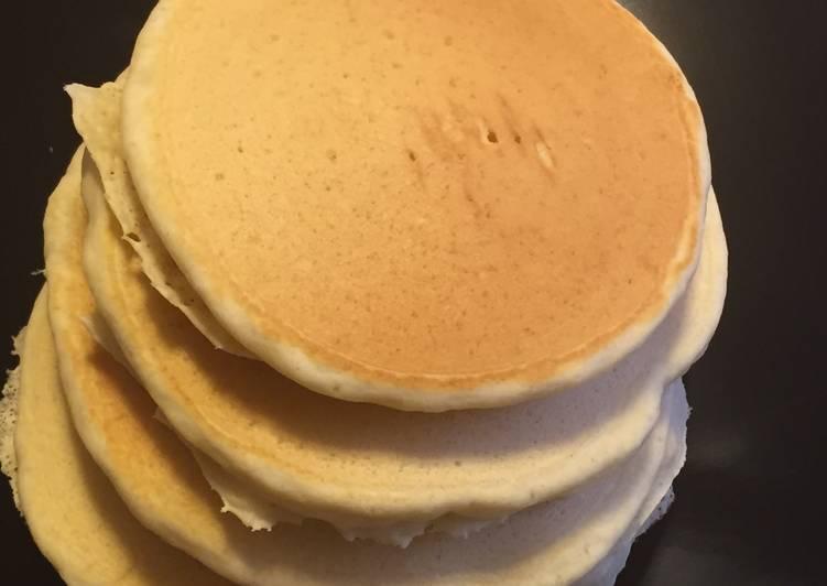 Recipe of Homemade Pancakes