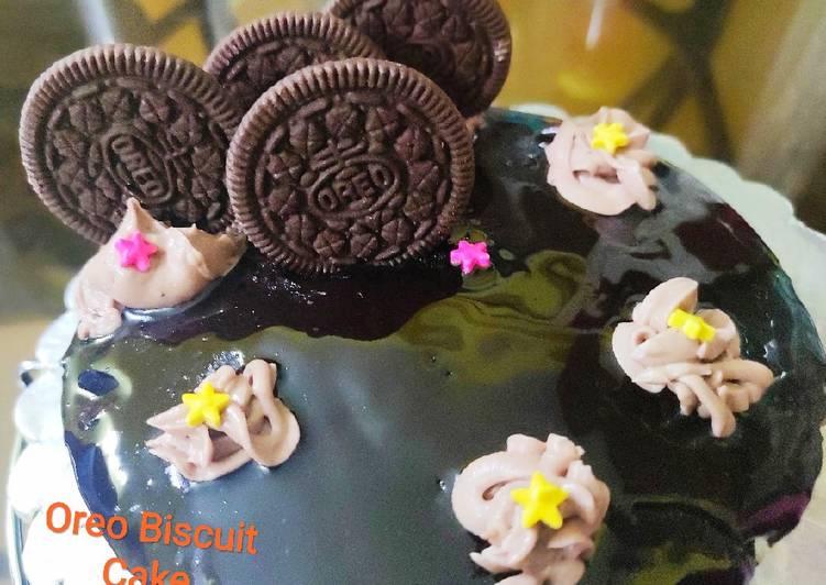 Recipe: Delicious Oreo Biscuit Chocolate Cake