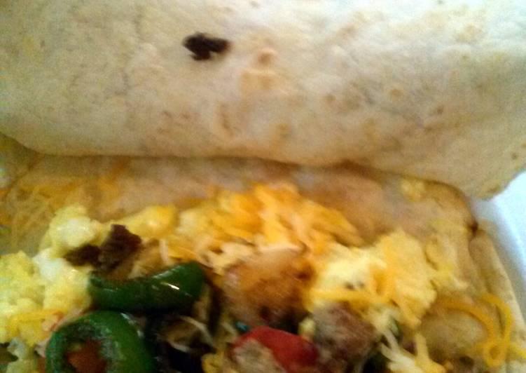 How to Prepare Speedy Mae's breakfast burritos