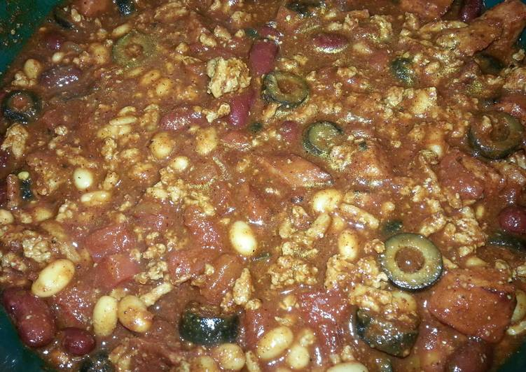 Going Green for Good Health By Eating Superfoods My Chili Recipe (Crock Pot)