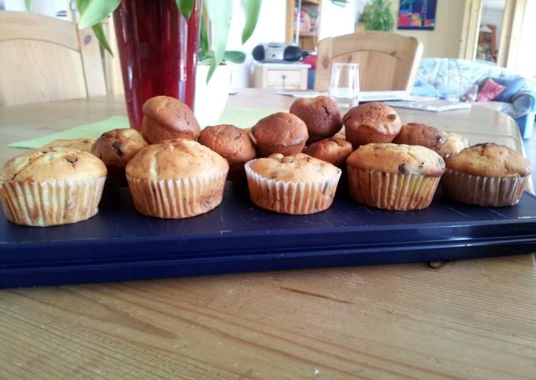Banana – Chocolate Cupcakes Recipe